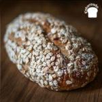 Pan de avena integral