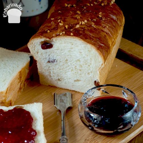 Pan dulce con masa madre natural