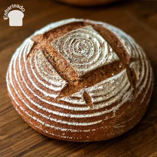 Pan de espelta integral con masa madre2