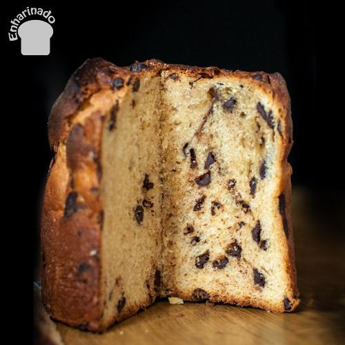 Panettone de chocolate fácil