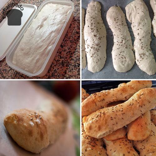 Baguettes de espelta (Seelen)2