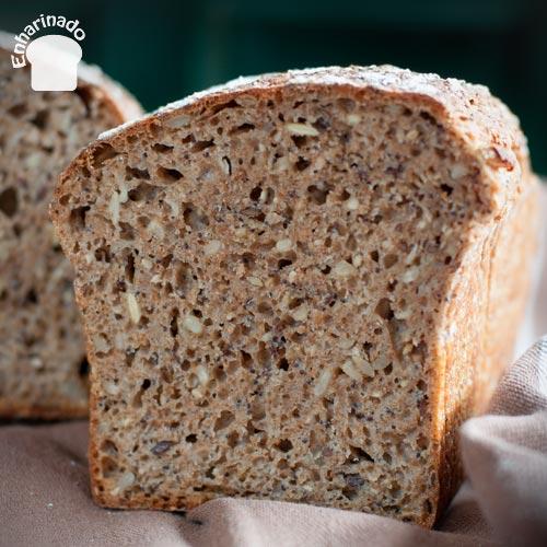 Pan de espelta 5 semillas