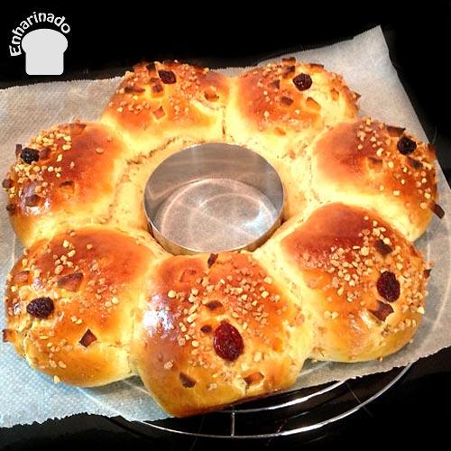 Roscón de Reyes - Horneado