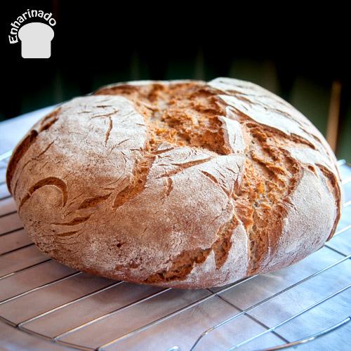 Pan rústico semi integral