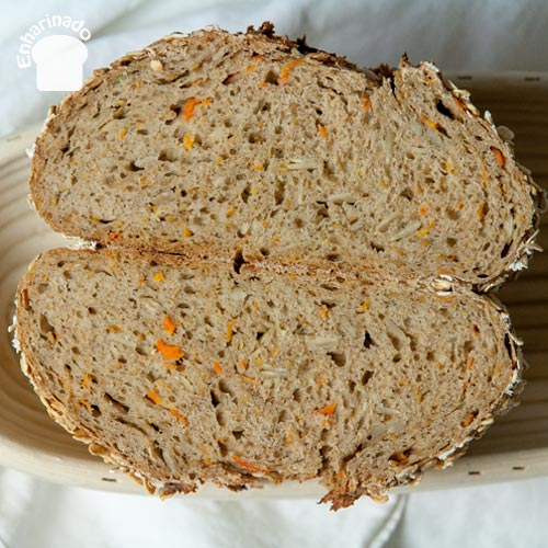 Pan de zanahoria - Miga