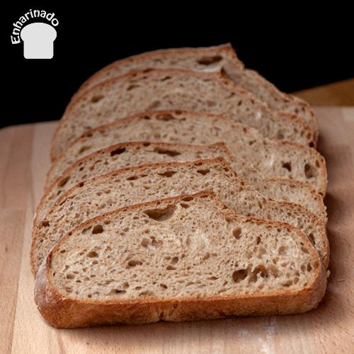 Pan campesino 100% masa madre de centeno
