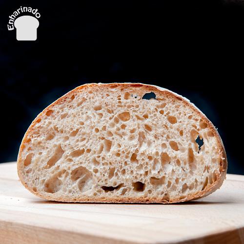 Pan campesino 100% masa madre de trigo - Rebanada