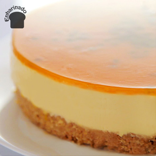Cheesecake de parchita (Maracuyá)