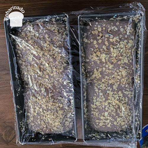Pan de espelta integral y nueces - Fermentación