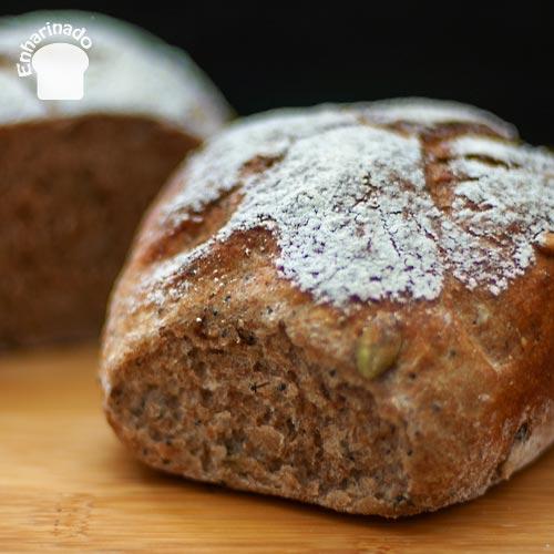 Pan de espelta integral con levadura