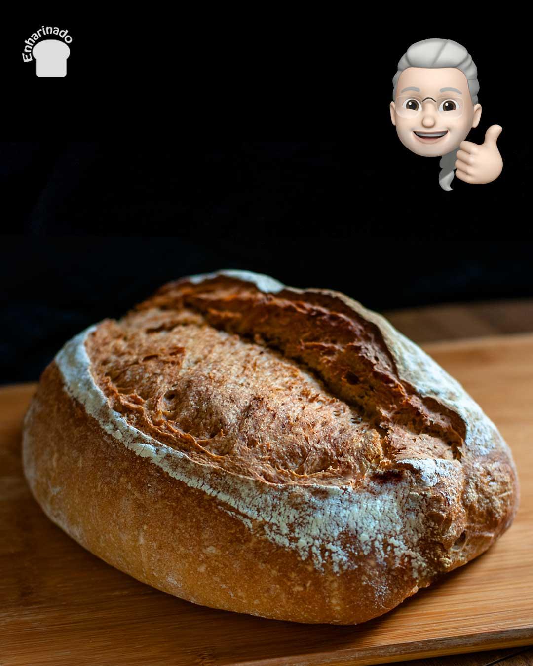 Pan de espelta con papa