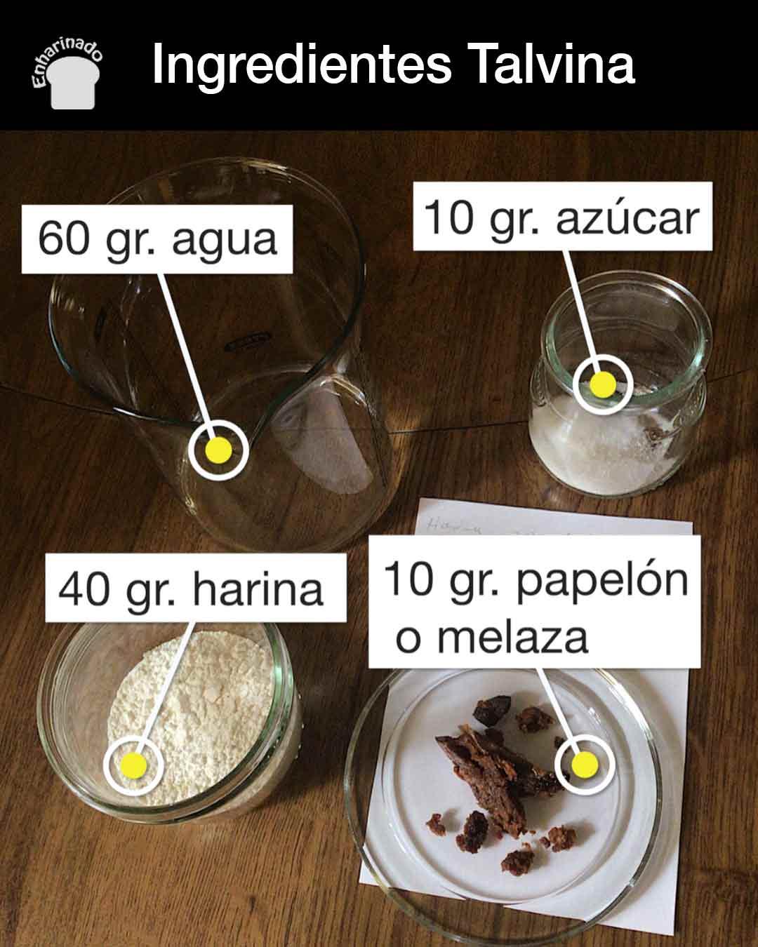 Talvina - Ingredientes