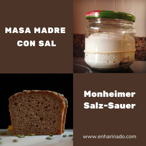 Masa madre con sal estilo Monheimer